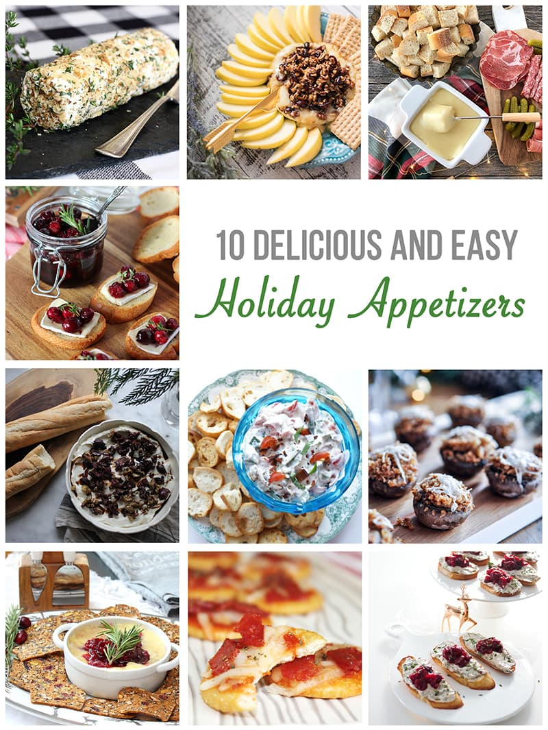 10 Delicious and Easy Holiday Appetizers