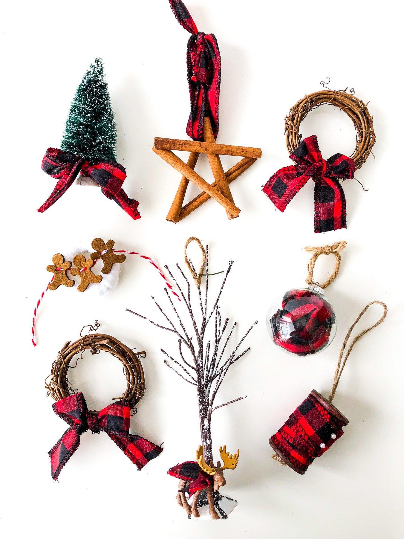 Buffalo Plaid Christmas Ornaments A Pretty Life In The Suburbs