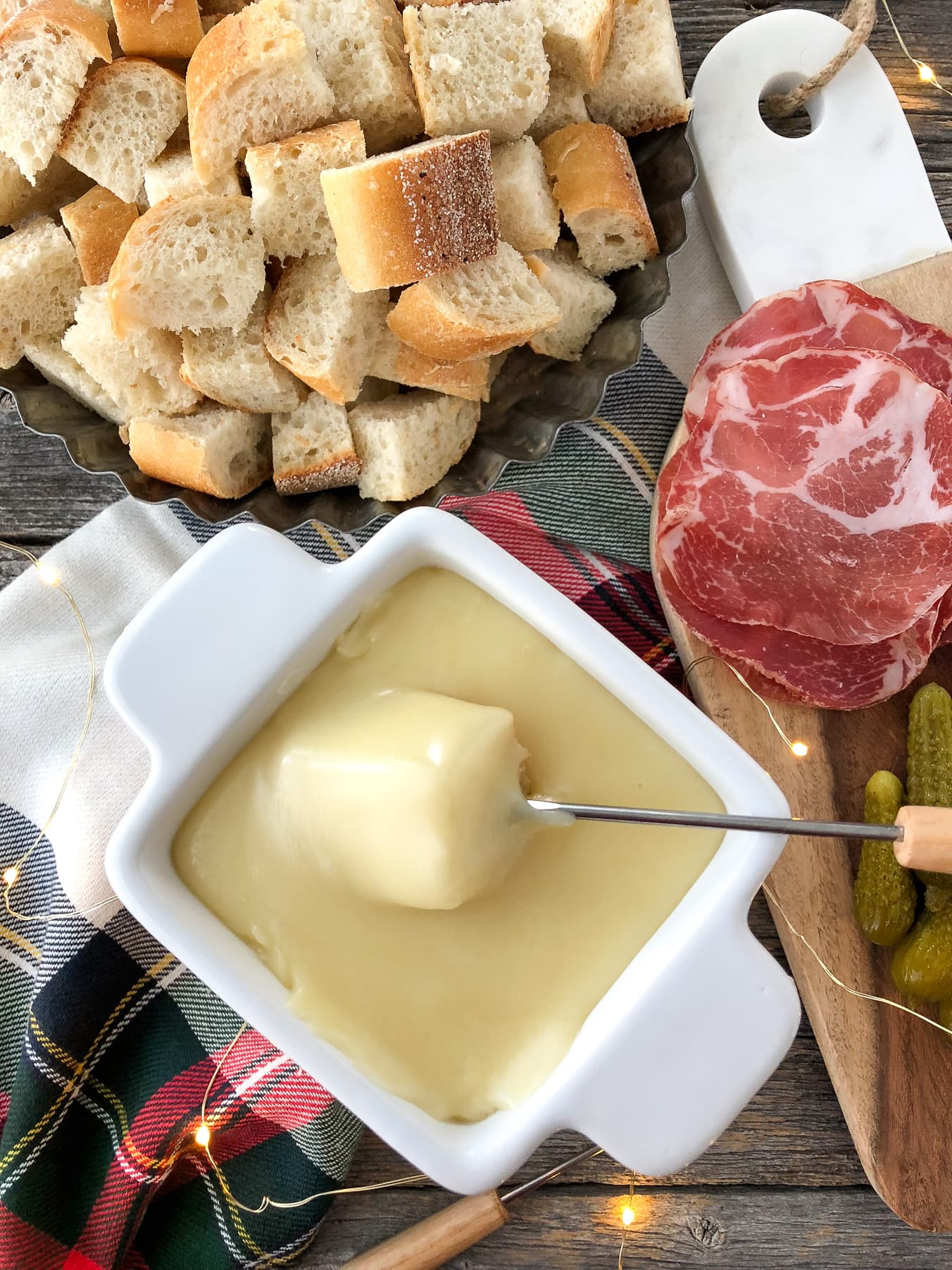 Cheese Fondue Appetizer