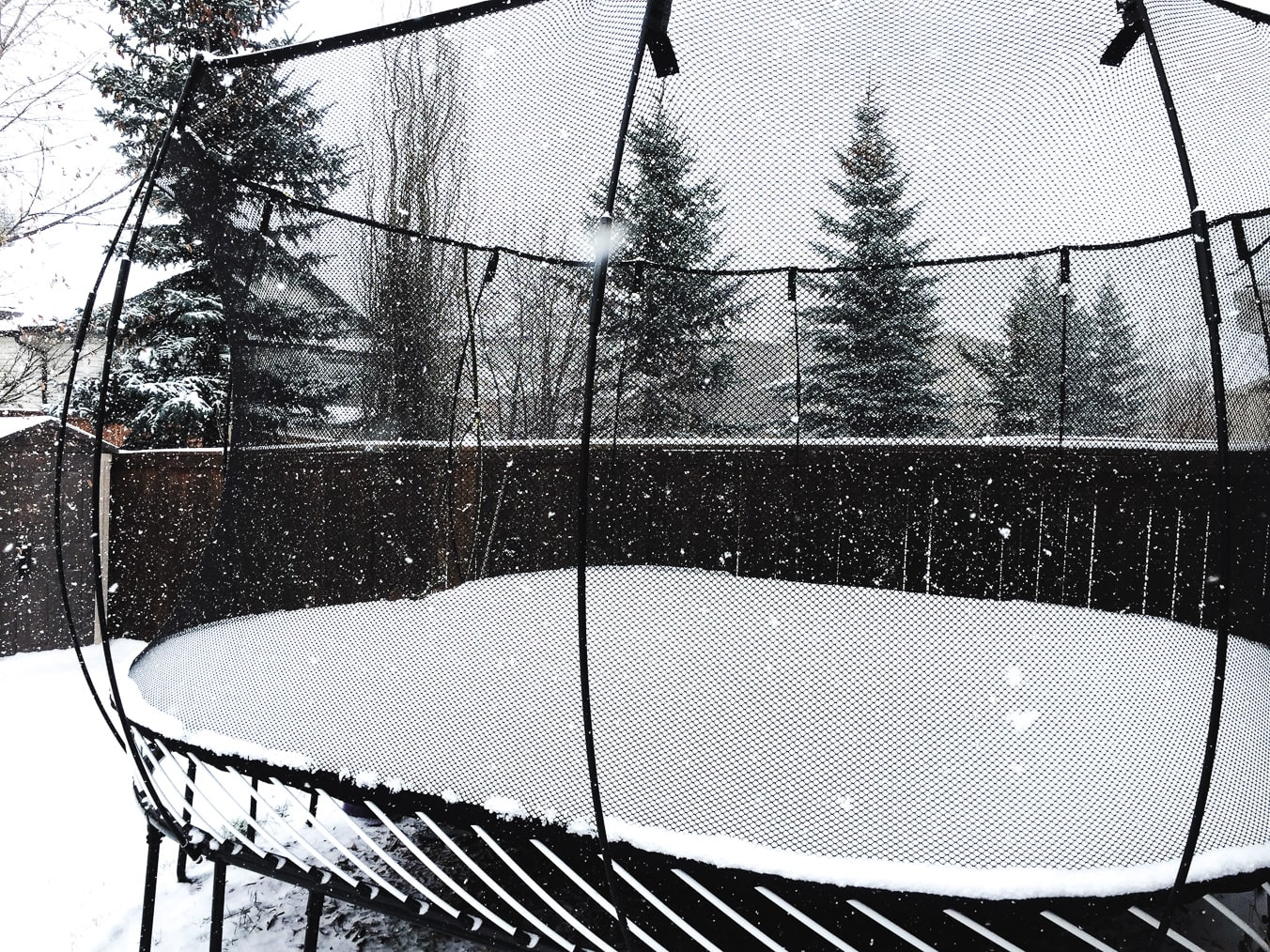 Keep the trampoline fun going all winter long!