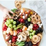 Kid Friendly Snack and Cheese Plate