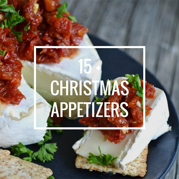 15+ Christmas Appetizers