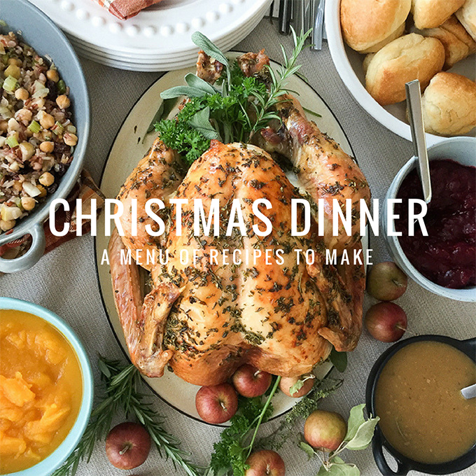 Christmas Dinner Menu Recipes to Make