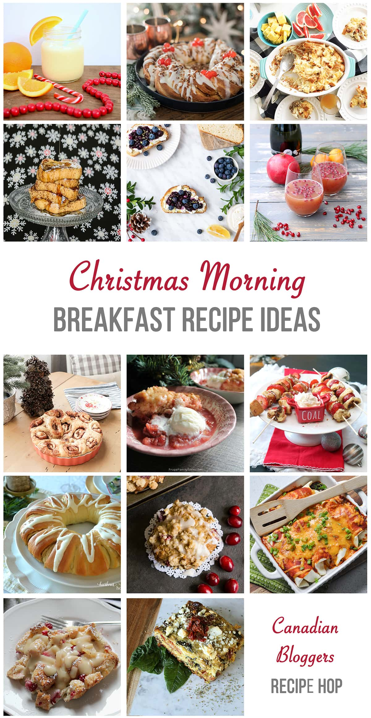 Christmas Morning Breakfast Recipe Ideas