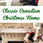 Classic Canadian Christmas Home