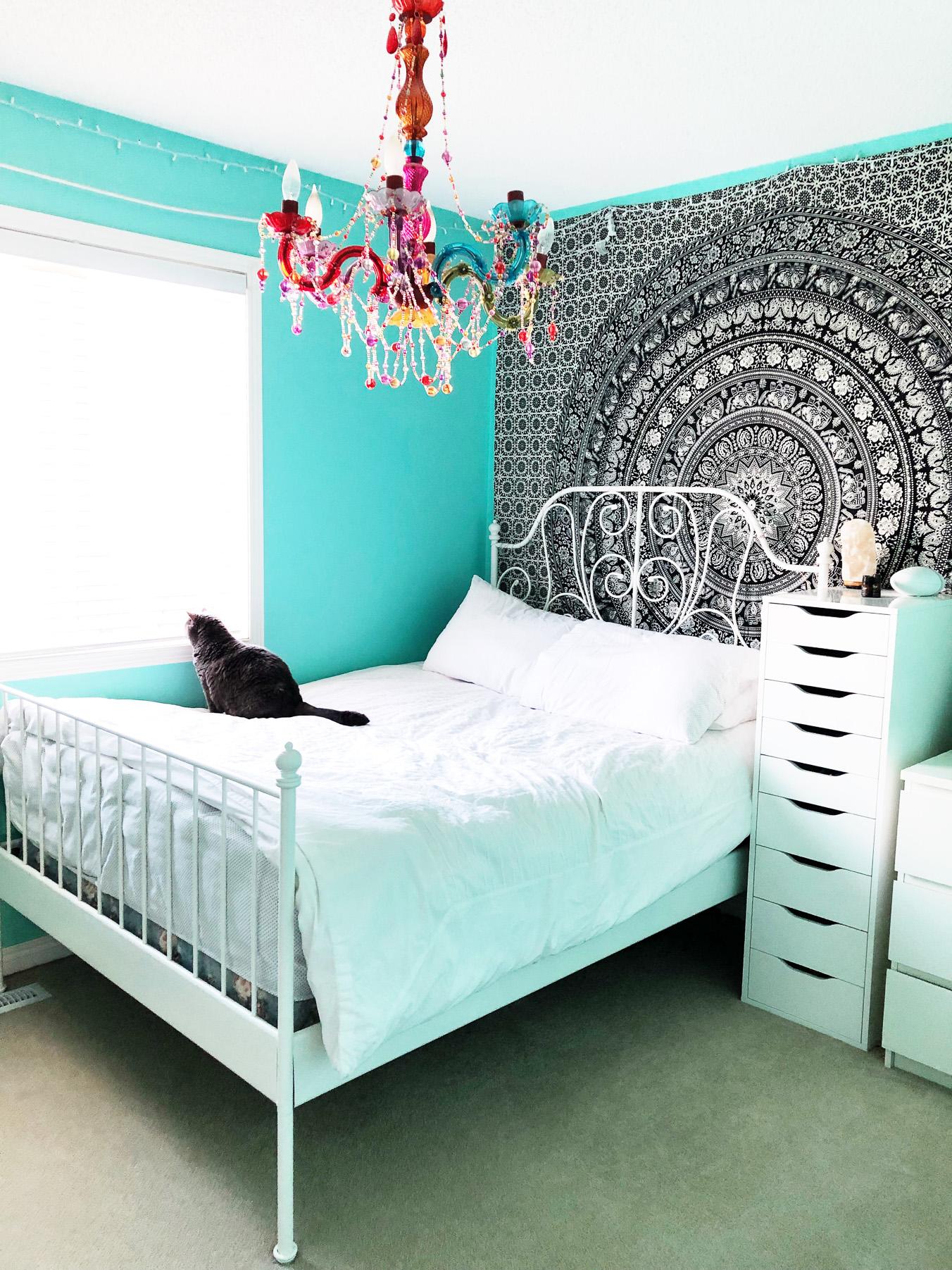 Colourful Boho Bedroom