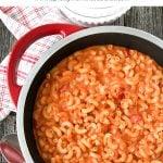 Creamy Tomato Macaroni and Cheese