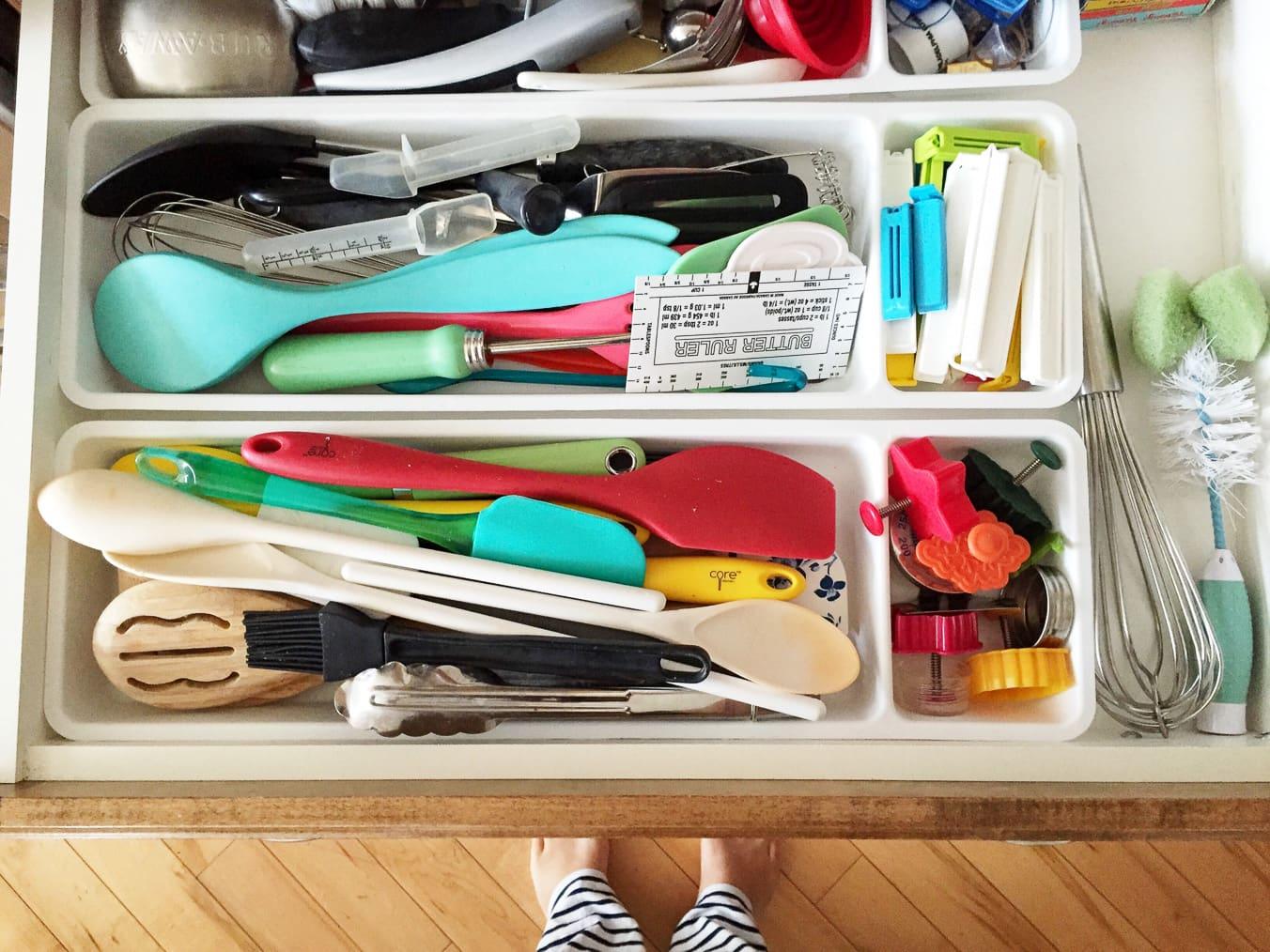 Kitchen Drawer Organization: After