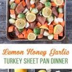 Sheet Pan Lemon Honey Garlic Turkey
