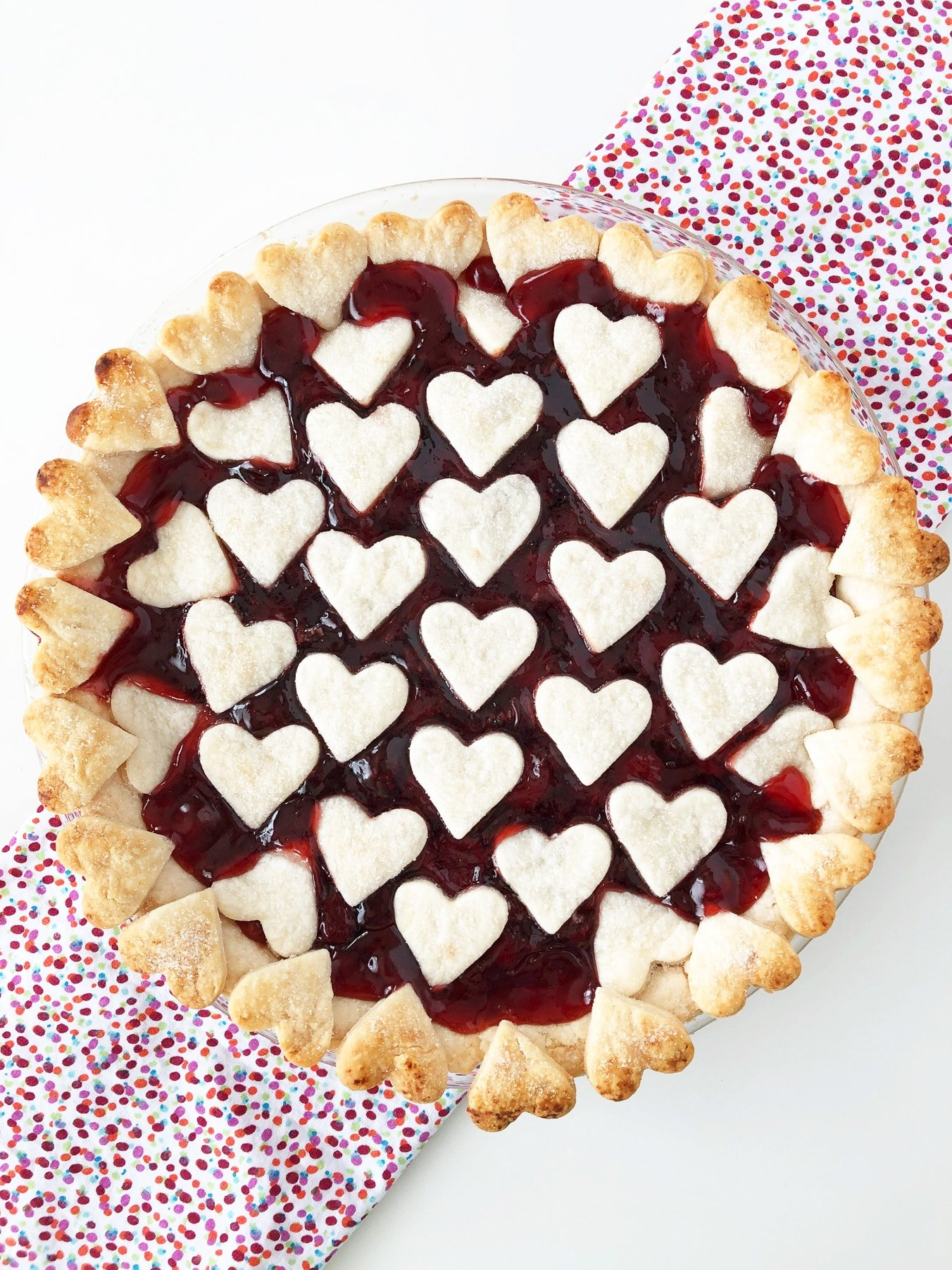 Cherry Pie for Valentine's Day