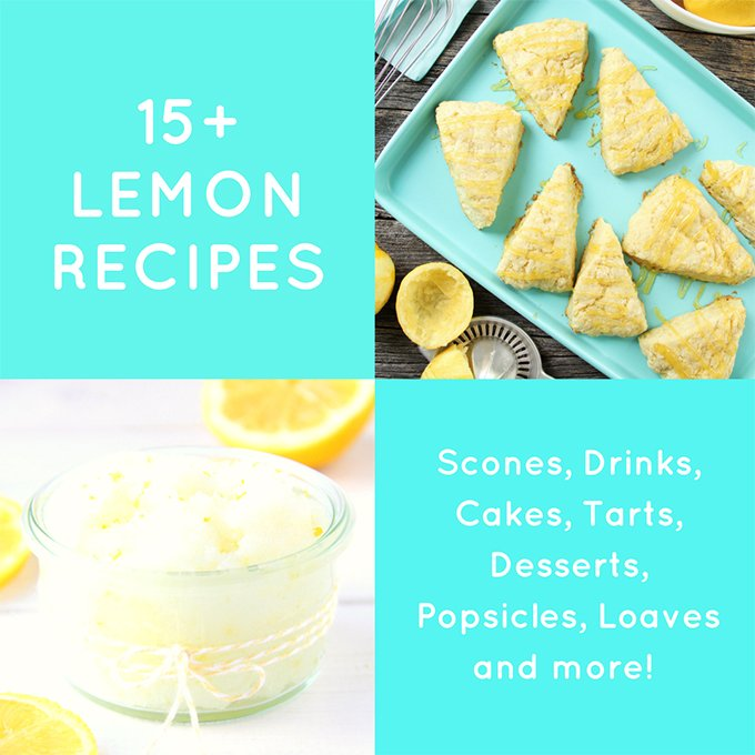 15+ Delicious Lemon Recipes