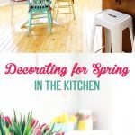 Decorating for Spring in the Kitchen