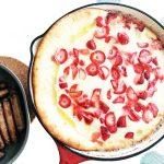 Strawberry Buttermilk Dutch Baby (Puff Pancake)