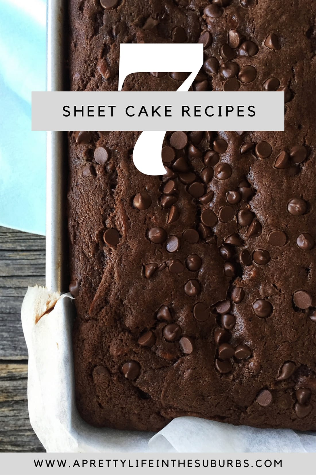 7+ Homemade Sheet Cake Recipes