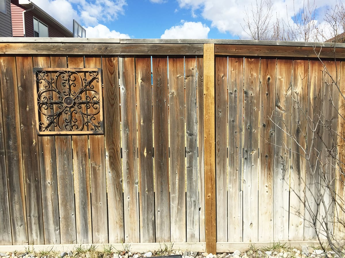 10 Tips for Staining a Fence: BEFORE