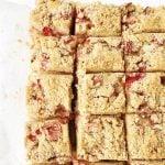 Rhubarb Sour Cream Cake Recipe