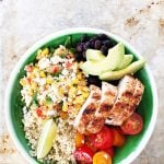 Mexican Street Corn Chicken Bowl Recipe