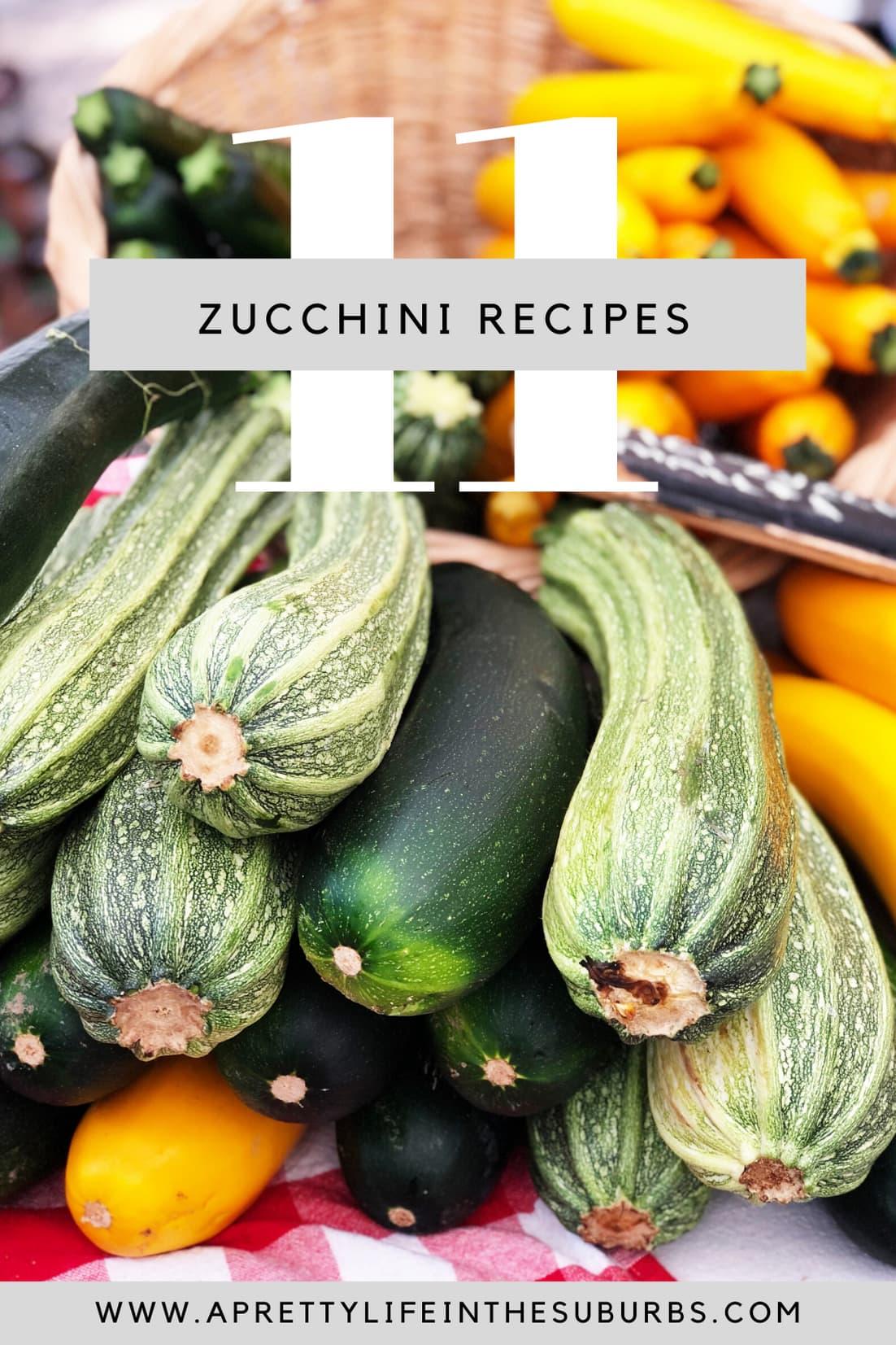 11+ Zucchini Recipes