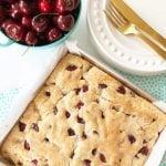 Cherry Buttermilk Breakfast Cake