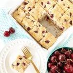 Cherry Buttermilk Breakfast Cake Recipe