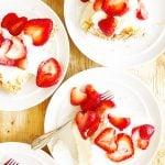 Easy 3 Ingredient Angel Food Cake Dessert