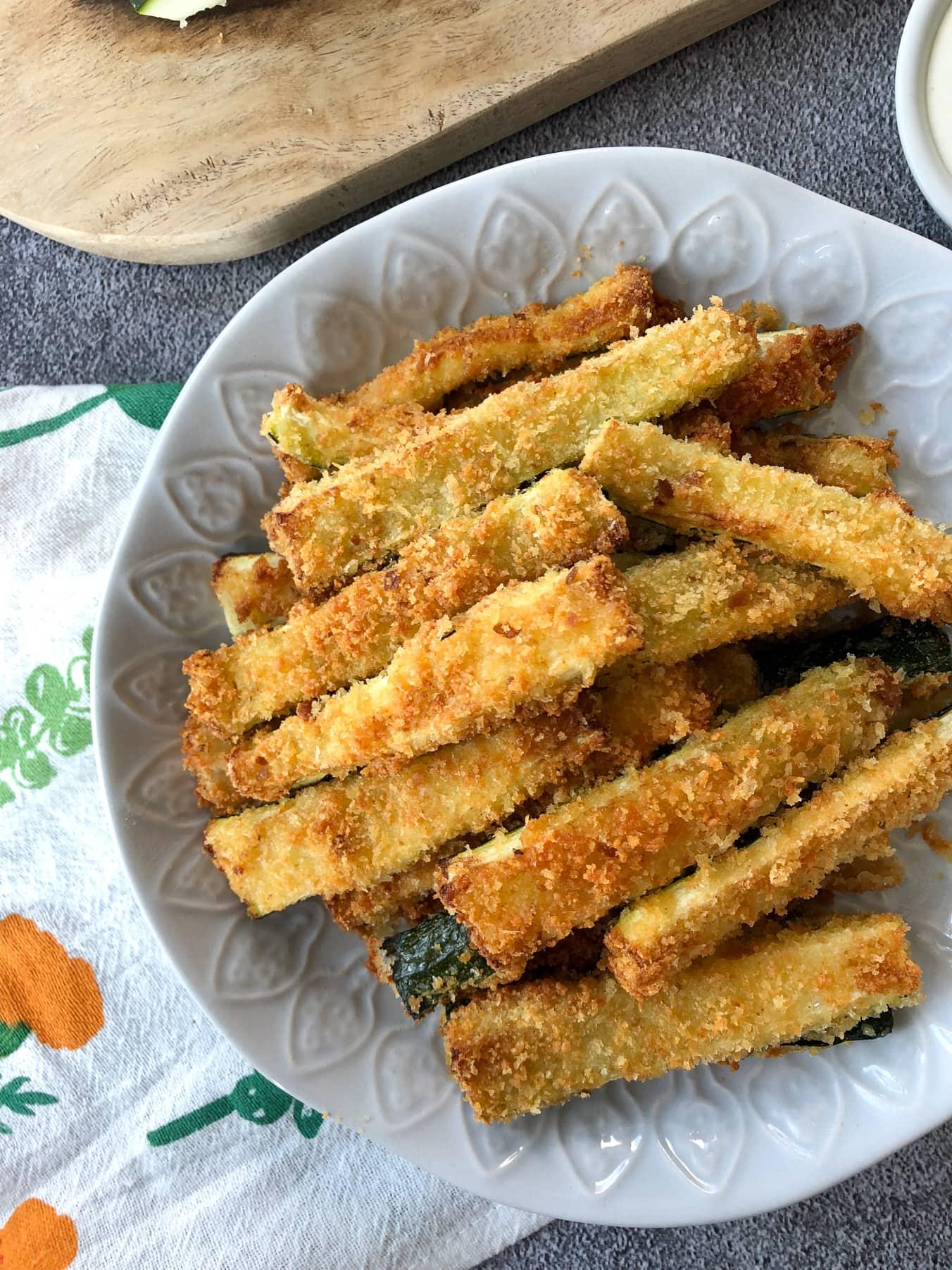 Airfryer Zucchini Fries
