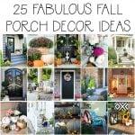 25 fabulous fall porch decor ideas