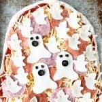 Halloween Ghost Blog Pizza