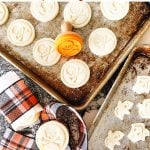 Halloween Stamped Sugar Cookies