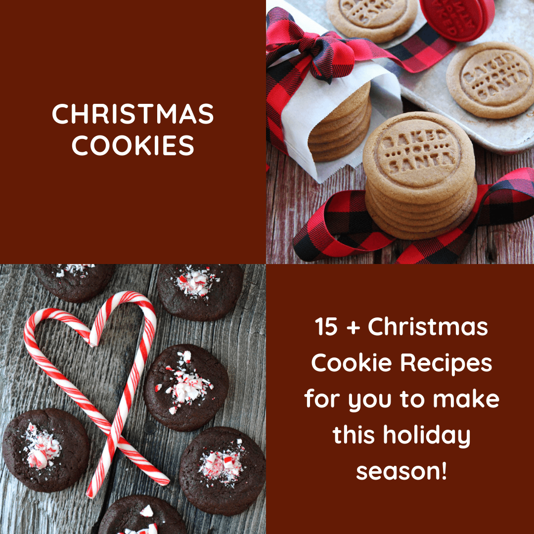 15+ Christmas Cookie Recipes