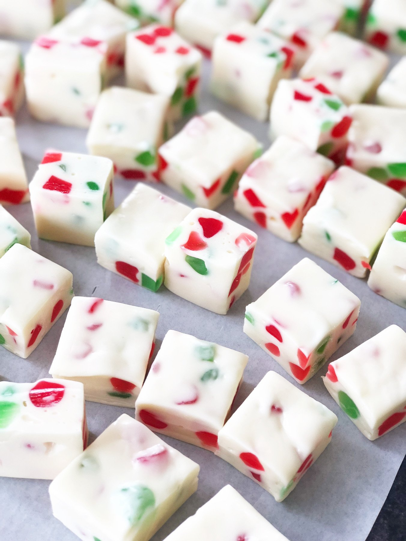 Christmas Gumdrop Nougat Candy