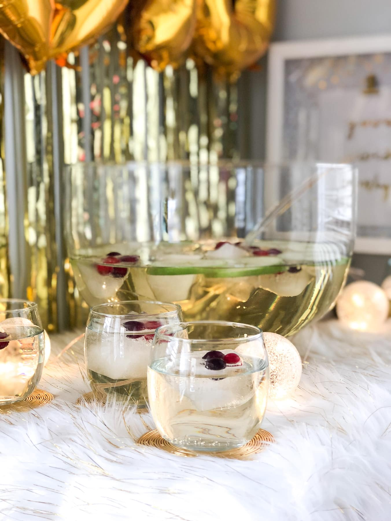White Cranberry Punch (No Alcohol)