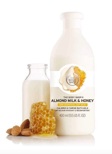 Almond Milk & Honey Bath Milk from The Body Shop