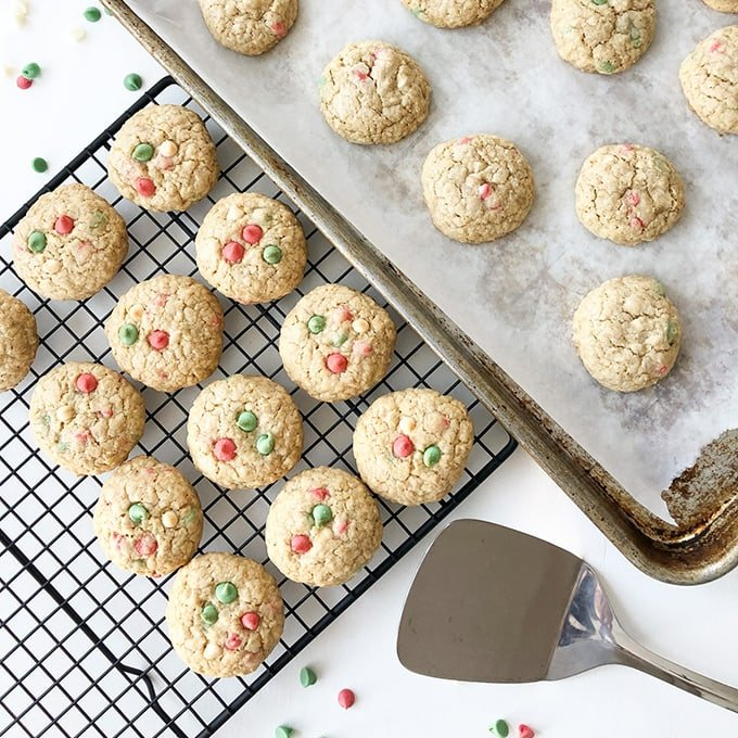 Christmas Oat Drops