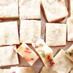 Fruitcake Shortbread Squares