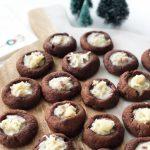 German Chocolate Thumbprint Cookies Recipe