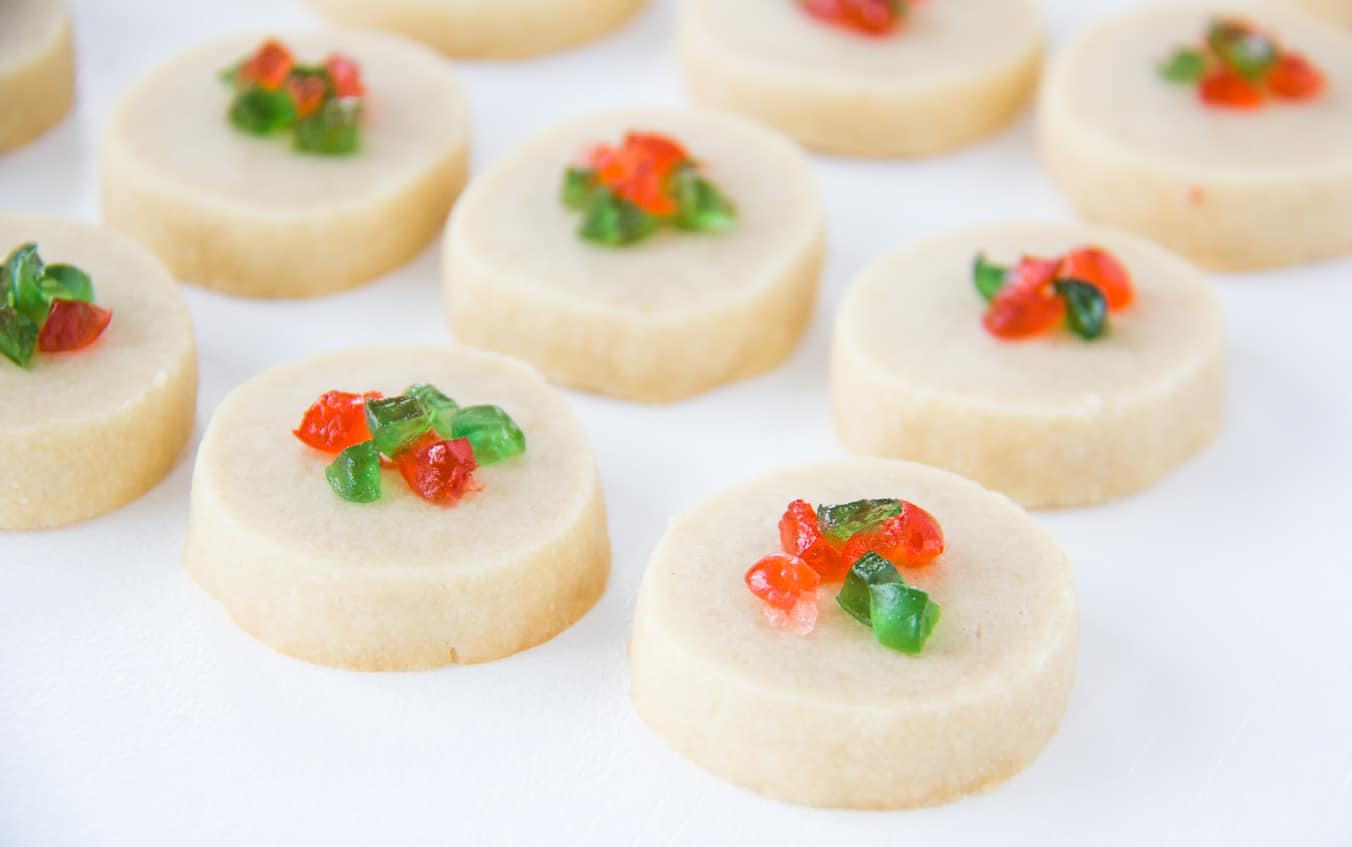 Slice and Bake Shortbread
