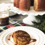 Sticky Date Pudding Bundt Cake with Toffee Sauce Recipe
