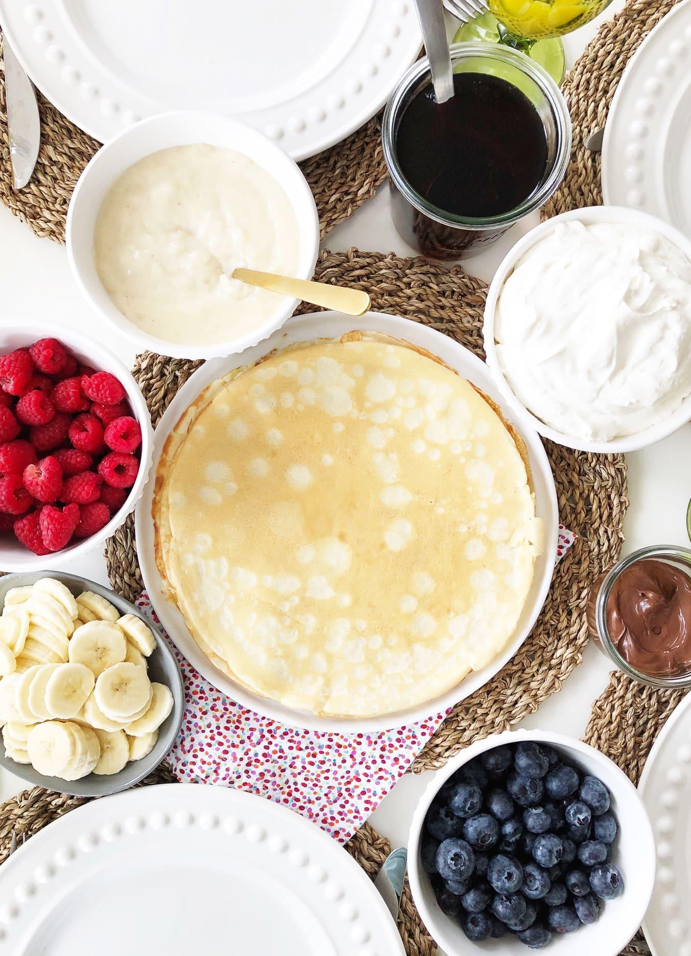 Delicious Crepe Recipe
