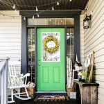 Bright and Cheery Spring Porch