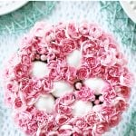 Easter Egg and Pink Carnation Easter Centerpiece