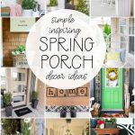 Ideas for Decorating a Spring Porch