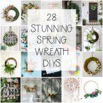 28 Spring Wreath Ideas