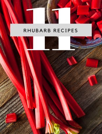 11 Rhubarb Recipes