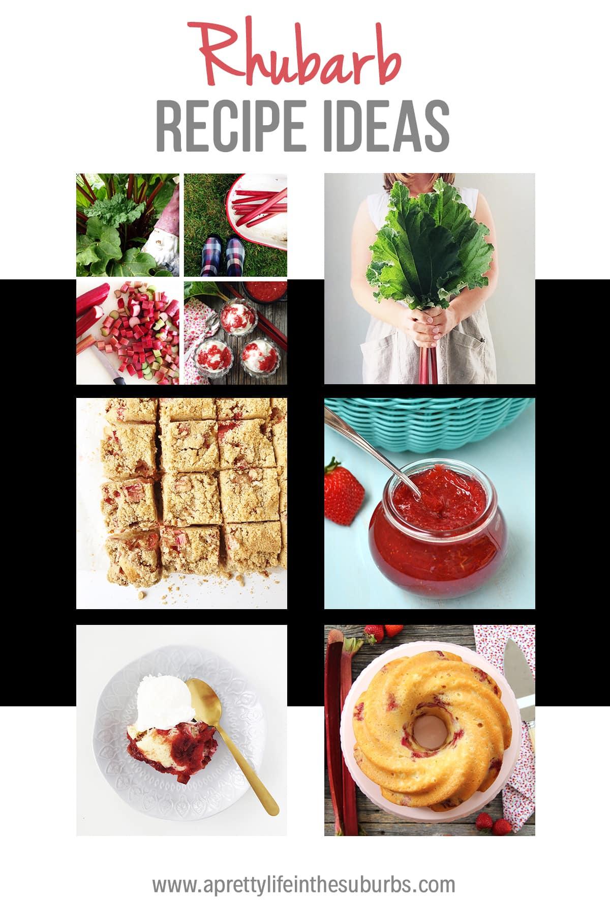 11+ Rhubarb Recipes
