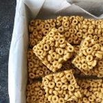 No Bake Peanut Butter Cheerio Squares Recipe