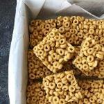 No Bake Peanut Butter Cheerio Squares Recipe