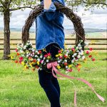 Summer Wildflower Wreath