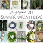24 Pretty DIY Summer Wreaths