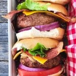 All Dressed Lumberjack Turkey Burgers